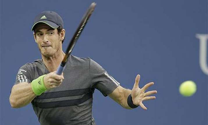 us open andy murray moves easily into third round