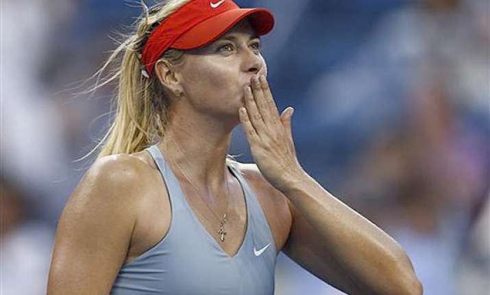 us open maria sharapova comes through in 3 sets tussle