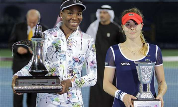 venus williams wins dubai title