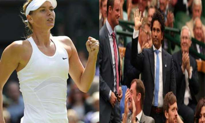who is sachin wonders maria sharapova