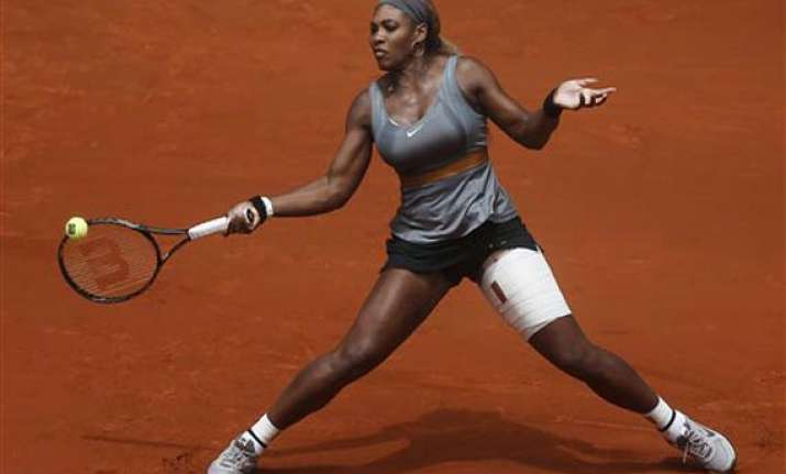 williams pulls out of madrid open with injury