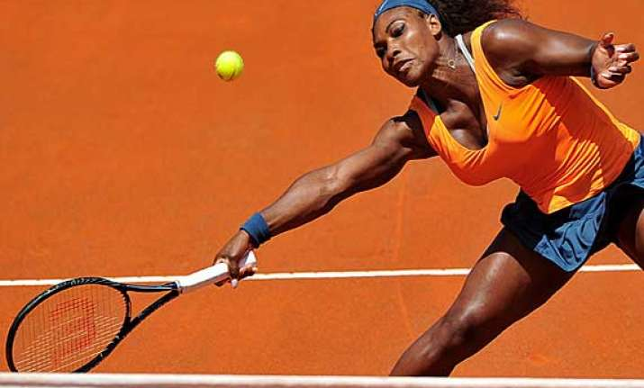 williams to meet ivanovic in semis of italian open semis