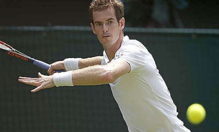 wimbledon andy murray opens his title defense