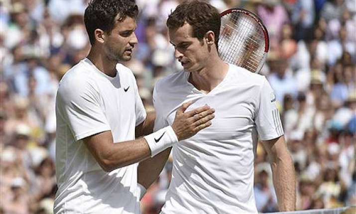 wimbledon no repeat for andy murray beaten by grigor
