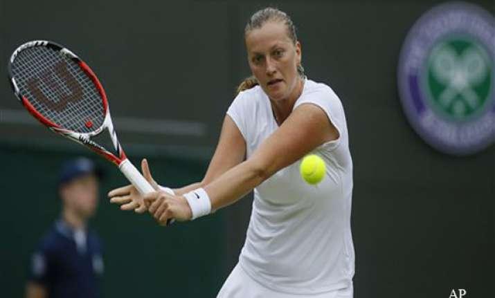 wimbledon petra kvitova reaches 4th round