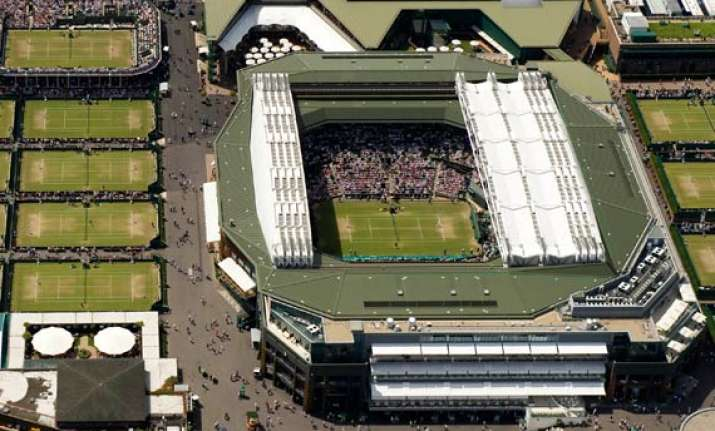 wimbledon readies for olympic makeover