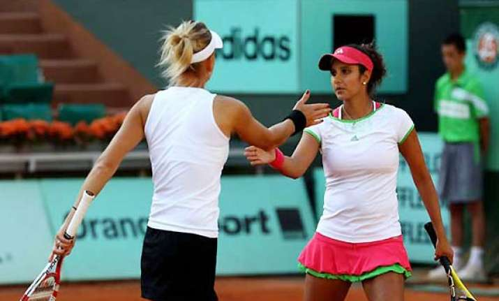 wimbledon sania elena seeded 4th lee hesh 3rd