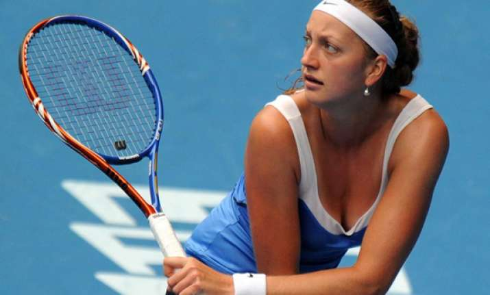 wimbledon champ kvitova ousted from eastbourne