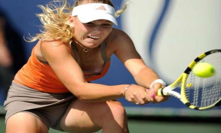 wozniacki reaches luxembourg semis stephens out
