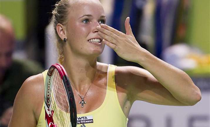 wozniacki ends year as wta number one