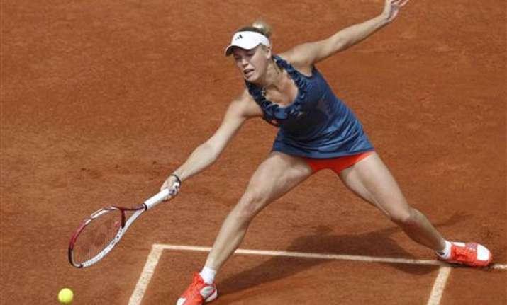wozniacki enters semifinals in copenhagen