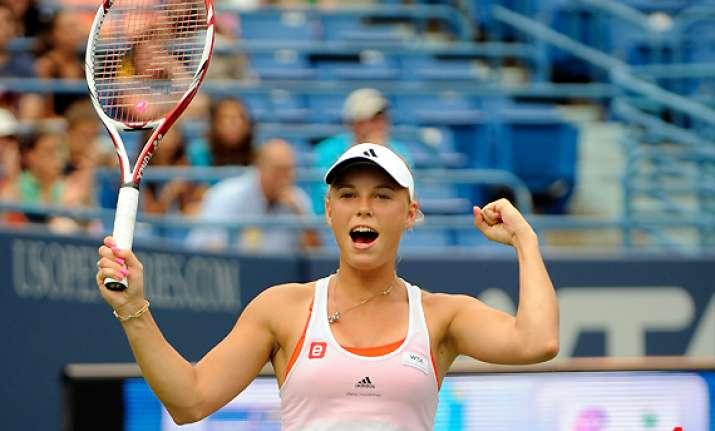 wozniacki wins 4th consecutive new haven tourney
