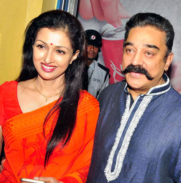 Here's a look at Kamal Hassan and Gautami's love story