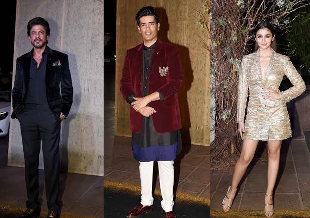 B Town Stars Look Fashionable At Manish Malhotra Birthday Party