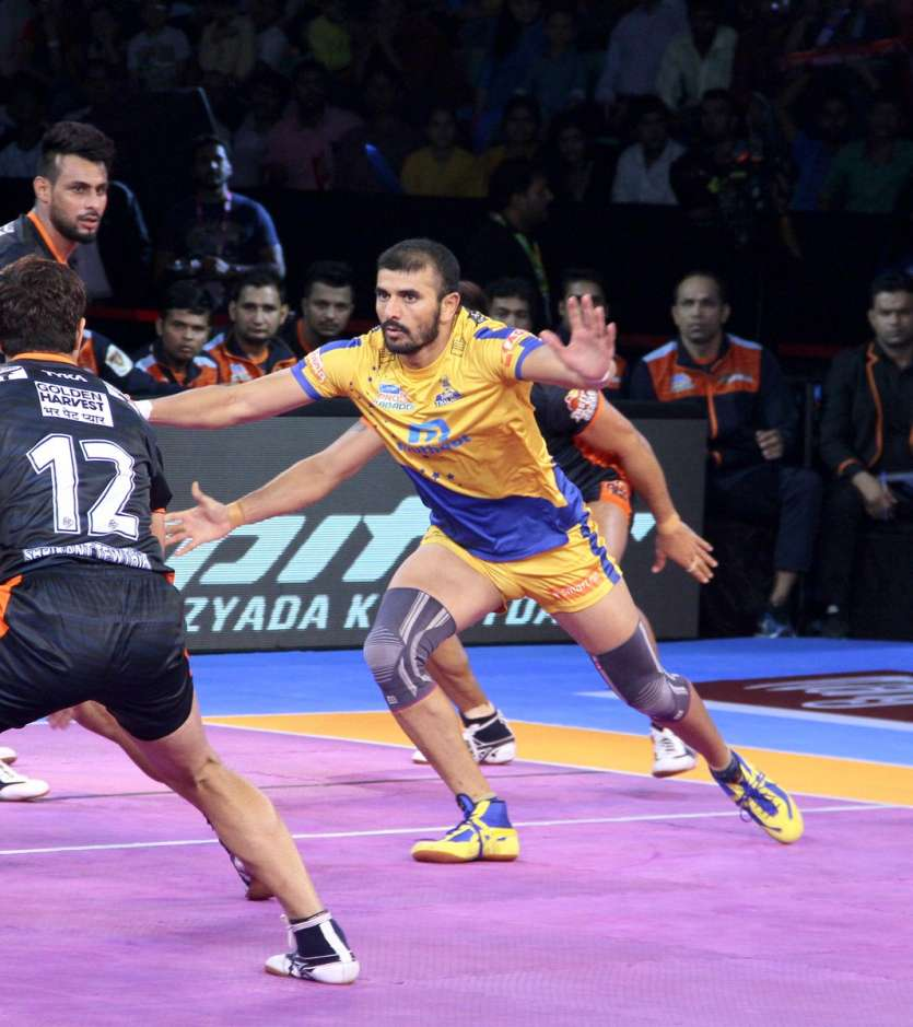 Meaning For Warriors In Tamil: Pro Kabaddi League 2017: Ajay Thakur Inspires Tamil