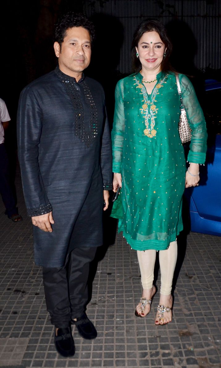 Zaheer Khan-Sagarika Ghatge\'s wedding reception PICS: Sachin ...