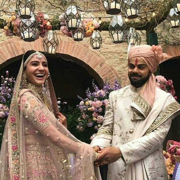 Anushka Sharma Virat Kohli S Engagement Mehendi And Wedding