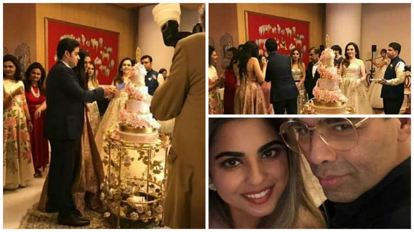 Inside pictures of Akash Ambani and Shloka Mehta's engagement party