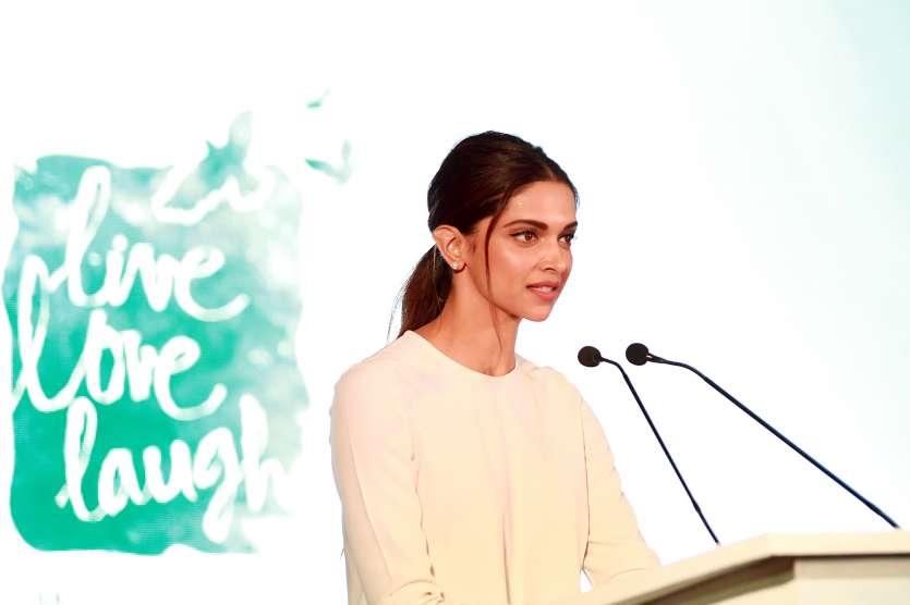 Deepika Padukone bats for mental health awareness at The ...