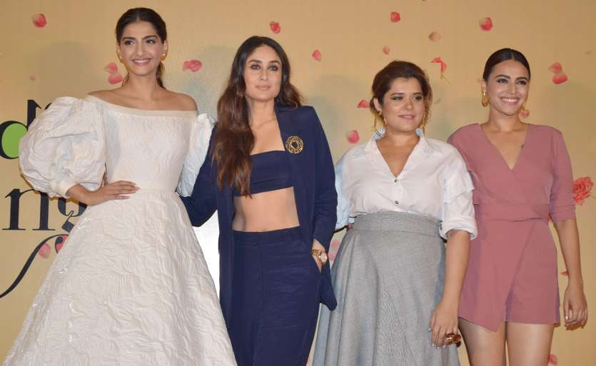 Veere Di Wedding Trailer.Sonam Kapoor Kareena Kapoor Swara Bhaskar Up The Fashion Game At