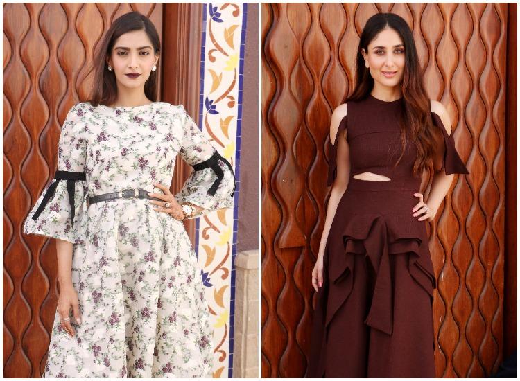 Veere Di Wedding Outfits.Pics Kareena Kapoor Khan And Sonam Kapoor S Looks For Veere Di