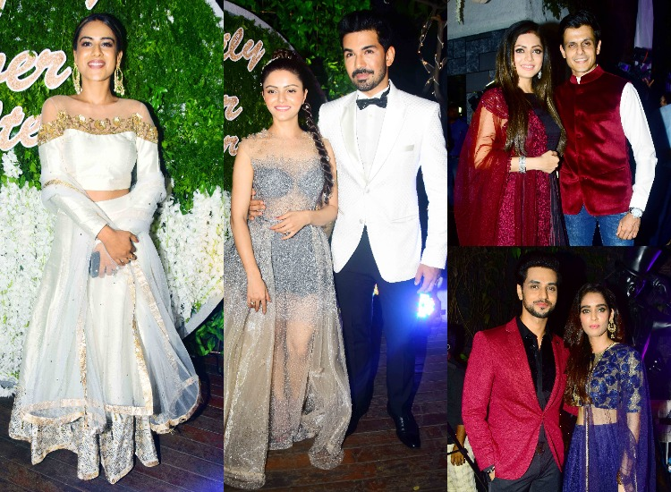 Nia Sharma Drashti Dhami Vivian Dsena others TV stars Rubina Dilaik