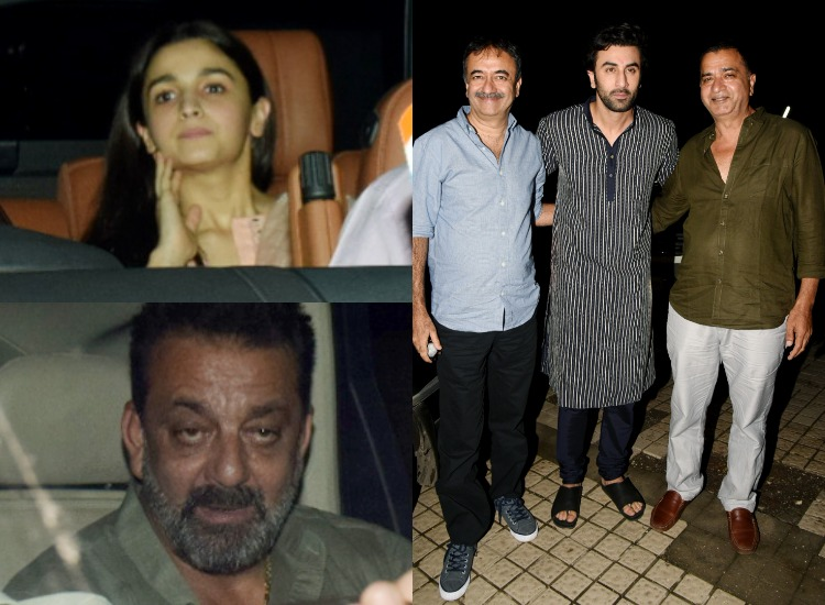 In pics: Alia Bhatt and Ranbir Kapoor arrive together for ...