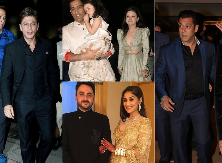 Srk Salman Khan Katrina Kaif And Others Attend Praful Patels