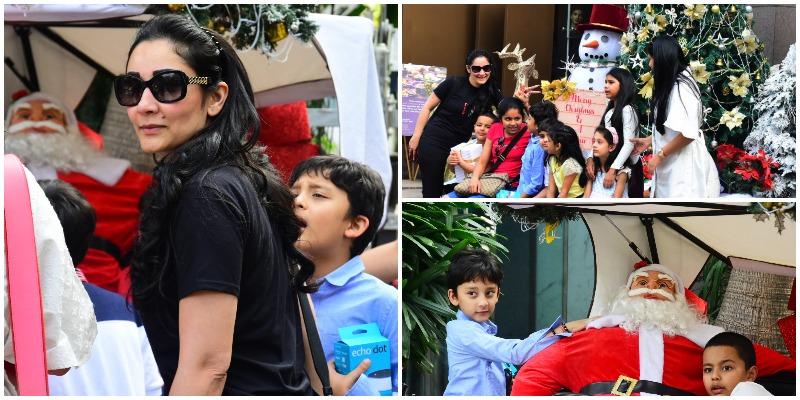 Maanayata Dutt and kids, Shahraan, Iqra are Christmas-ready
