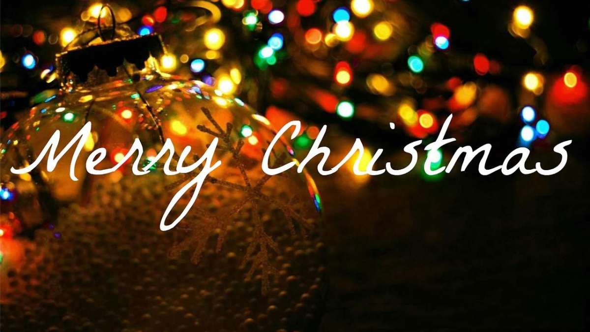 Merry Christmas! Have a jolly day!