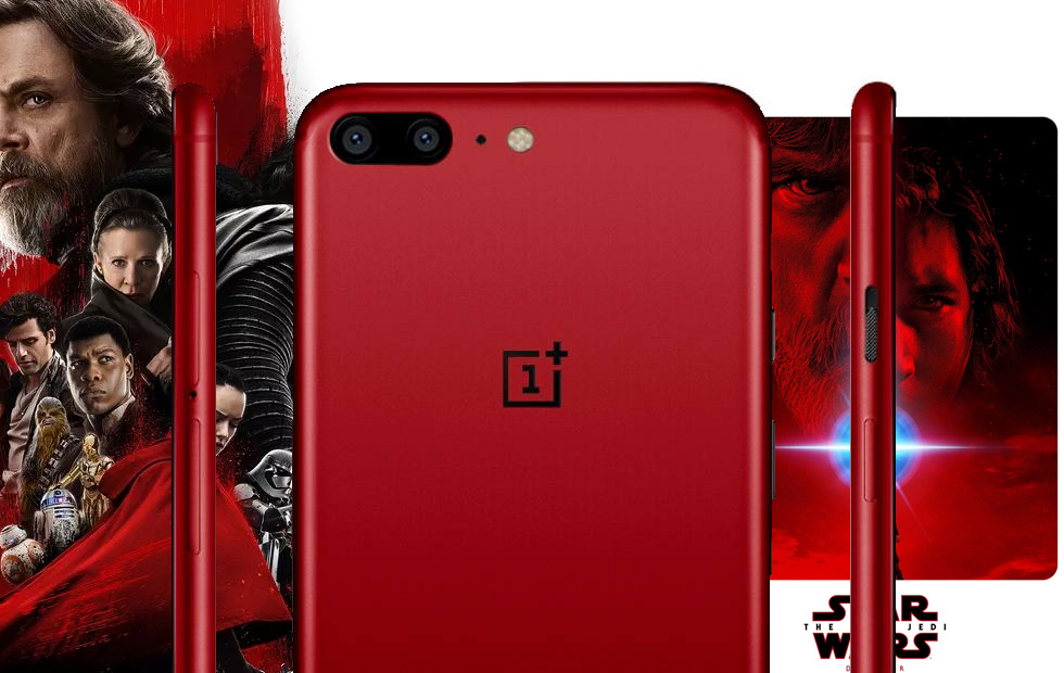 Oneplus Brings Oneplus 5t Star Wars Edition Phone In India For Rs 38 999 Gadgets News India Tv