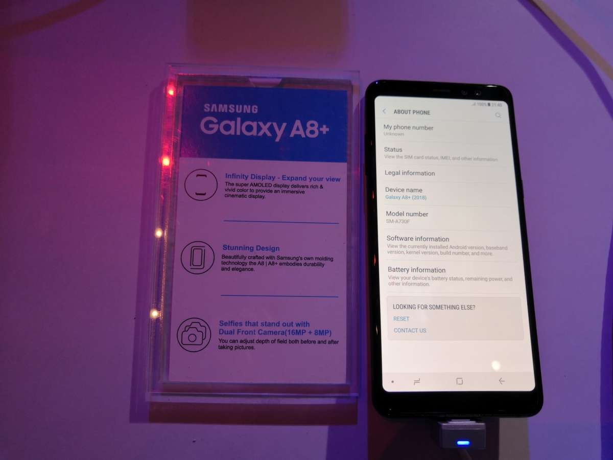 Samsung India launches Galaxy A8+ smartphone for Rs 32,990