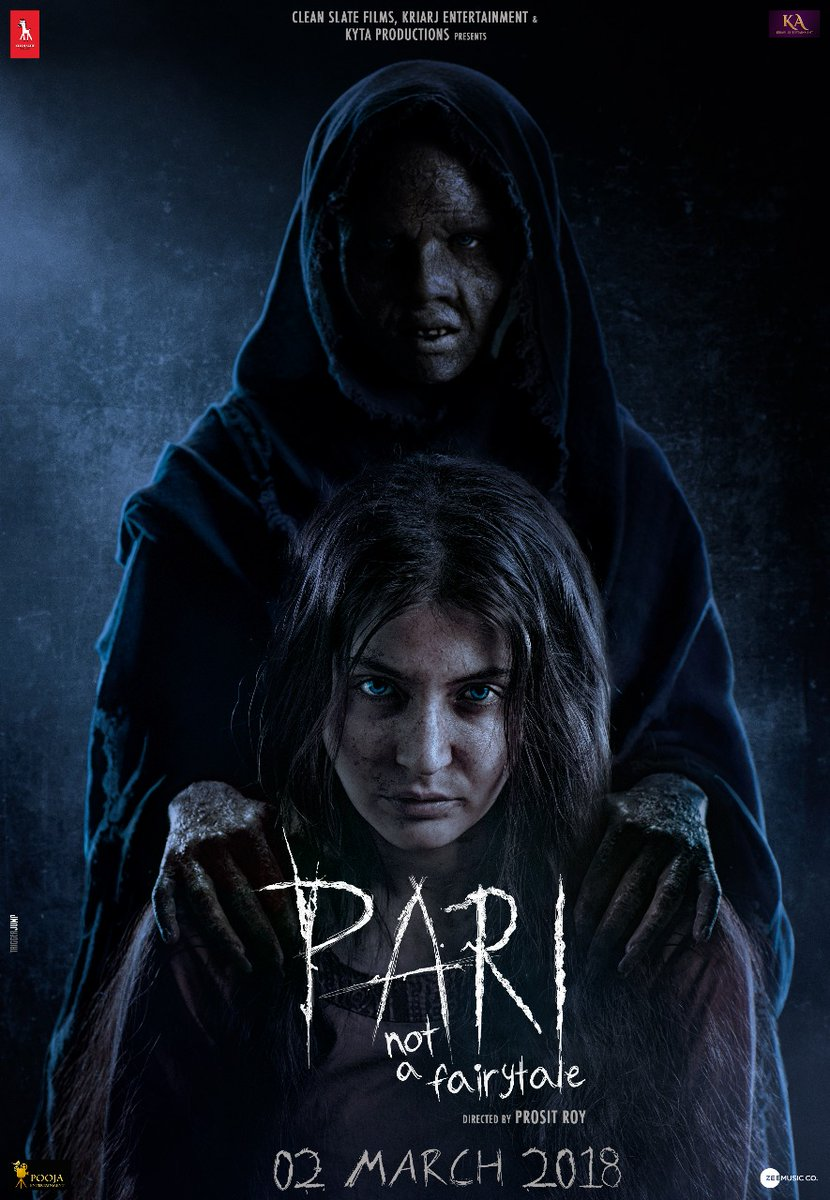 Anushka Sharma doubles the scare in Pari new poster | Bollywood ...