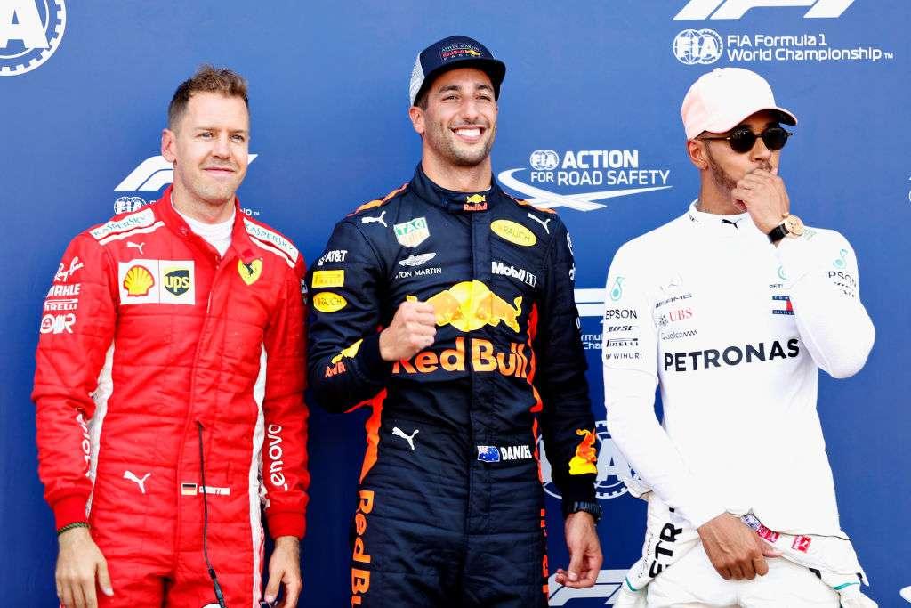 Daniel Ricciardo takes pole position for Monaco GP ahead of