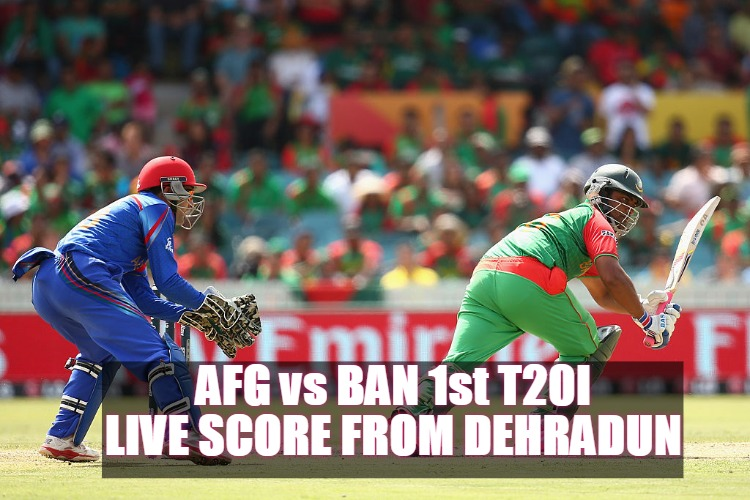 AFG vs BAN 1st T20I When and where to Watch Afghanistan vs