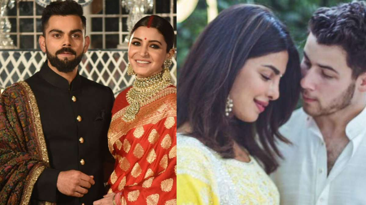 Connection Between Priyanka Chopra Nick Jonas Engagement And Virushka Wedding Revealed Celebrities News India Tv