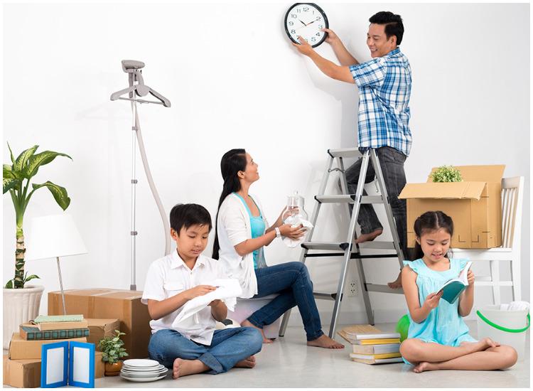 Membuat jadwal membersihkan rumah menjelang lebaran