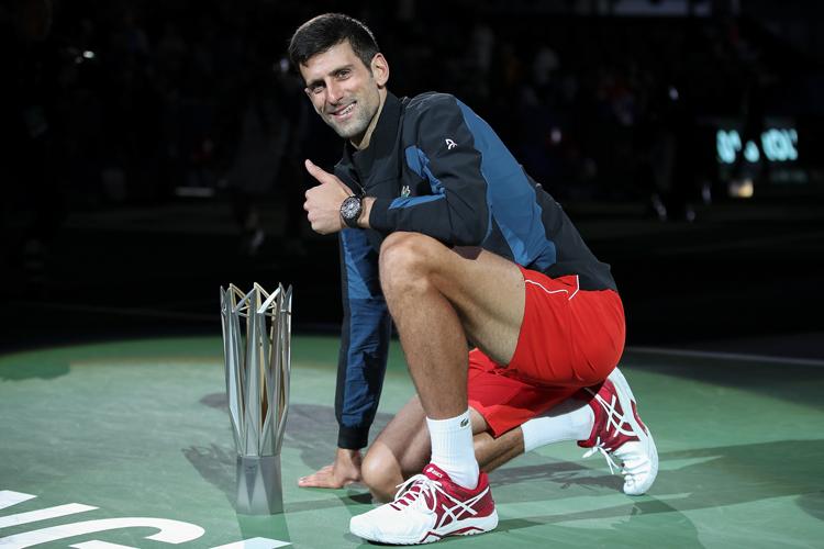 Novak Djokovic Wins Record Fourth Shanghai Masters Title Tennis News India Tv