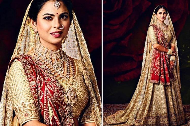 Isha Ambani wore Nita's wedding saree as her duppatta over Abu Jani  lehenga; know more | Fashion News – India TV