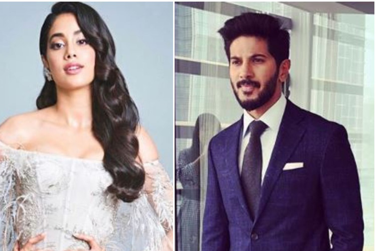 Janhvi Kapoor Might Romance Dulquer Salmaan In Flight Lieutenant Gunjan Saxena Biopic Bollywood News India Tv