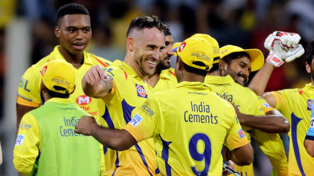 CSK have always targeted captains: Faf du Plessis reveals reason behind Chennai Super Kings' success   Cricket News – India TV