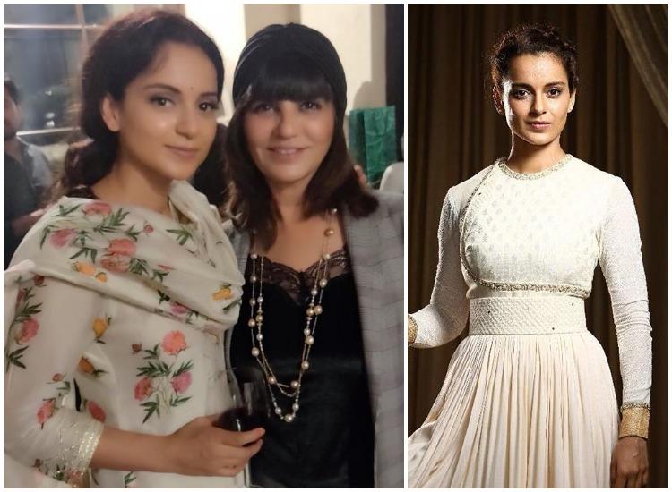 Fashion Designer Neeta Lulla Uploads Video Of Kangana Ranaut Starrer Manikarnika S Costume Making Fashion News India Tv