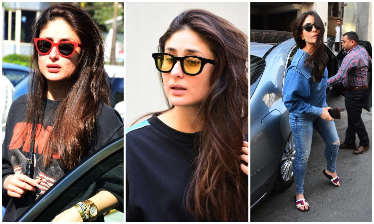 93aefba66458 Kareena Kapoor Khan adds oomph factor to her look with cool shades. Sneak  peek into her collection