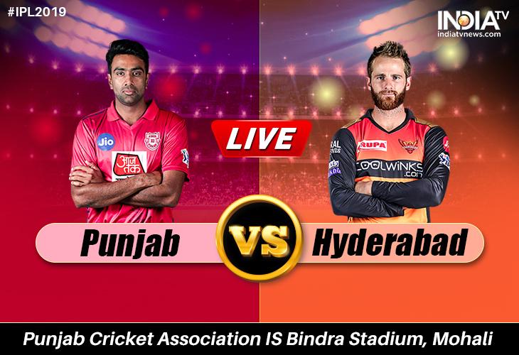 Highlights Ipl 2019 Match 22 Kings Xi Punjab Beat Sunrisers Hyderabad By 6 Wickets Cricket News India Tv