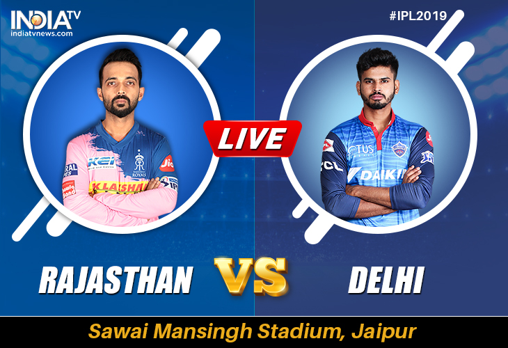 Live Cricket Streaming Rajasthan Royals Vs Delhi Capitals Watch Live Match Rr Vs Dc Ipl 2019 Stream Online On Hotstar And Tv On Star Sports Cricket News India Tv
