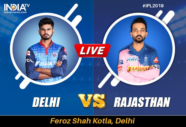 Dc Vs Rr Ipl 2019 Watch Delhi Capitals Vs Rajasthan Royals Online On Hotstar Cricket Star Sports Cricket News India Tv