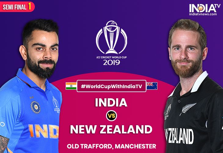 India Vs New Zealand 2019 India vs New Zealand, Semi final 1: Watch IND vs NZ Online on