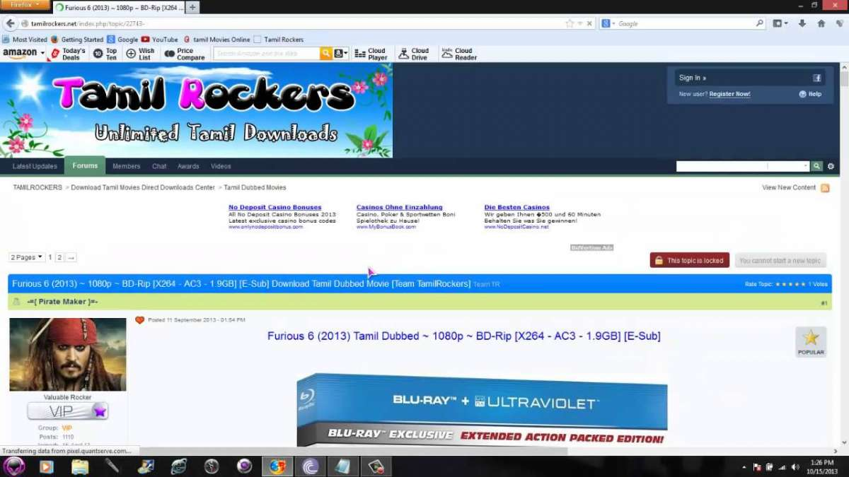 TamilRockers Tamil Movies Website all need to know | Bollywood News