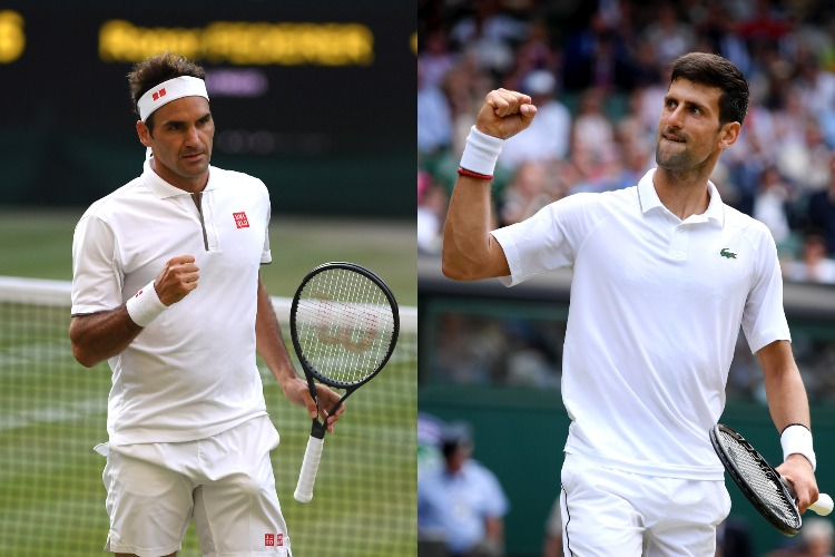 Live Wimbledon Final Match Roger Federer Vs Novak Djokovic Watch Federer Vs Djokovic Live Stream On Hotstar Star Sports Select 1 Bbc And Espn Tennis News India Tv