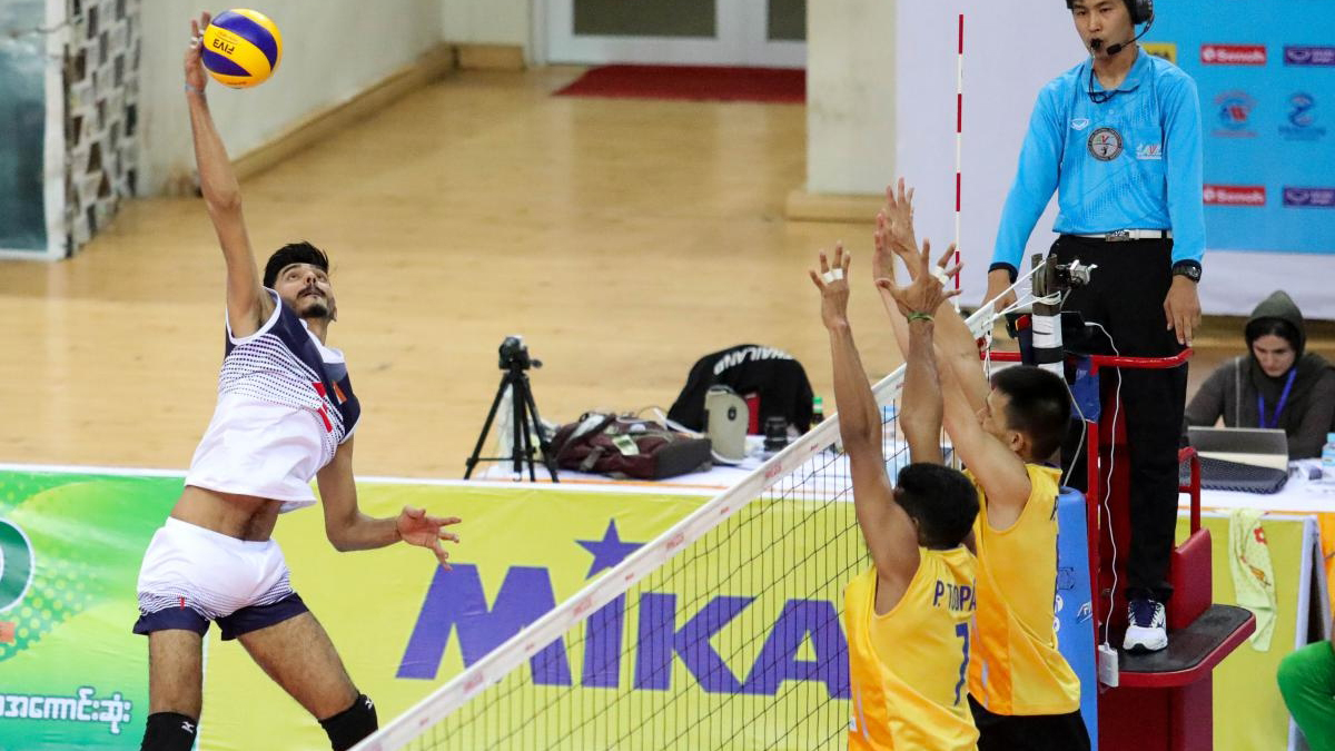 Asian U23 Volleyball Ch Ships India Men S Team Creates History Sets Up Epic Semifinal Showdown With Pakistan Other News India Tv
